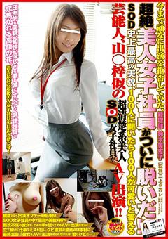 今まで頑なに出演を拒否していた、超絶美人女子社員がついに脱いだ!? 経理部鈴木美恵子