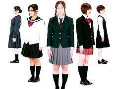 女子校生制服図鑑2010 360度ポーズ集
