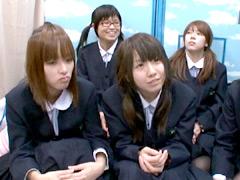 田舎から東京にやって来た修学旅行生6