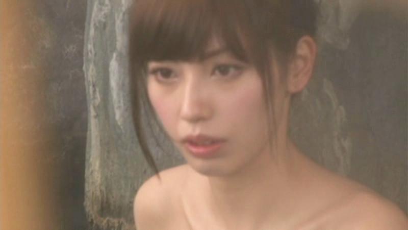 横山美雪ちゃん タオル一枚男湯入ってみませんか?