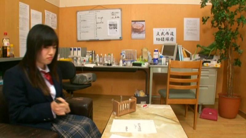 美爆乳生徒会長女子校生が透明人間になっちゃったのサンプル画像