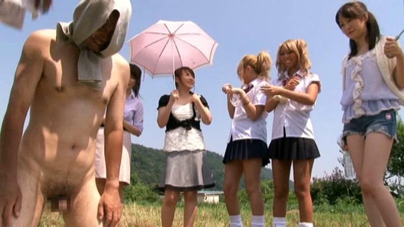 青空ゴックン!!搾りたての精液が飲めるザーメン牧場のサンプル画像
