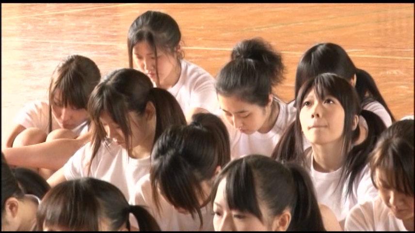 女子校生 体操着の上からでも明らかな巨乳むすめはドM 画像 1