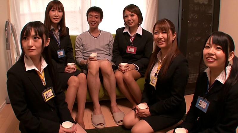 SOD女子社員をお家にお届け お部屋で王様ゲームのサンプル画像10