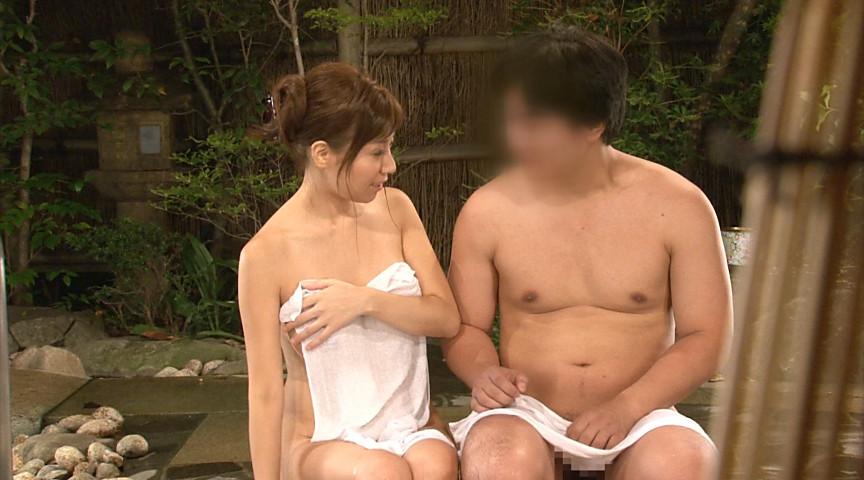 秋野千尋39歳 タオル一枚男湯入ってみませんか!? 画像 10
