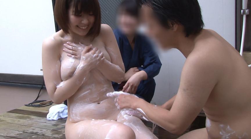 温泉街で見つけた一般男女が出会ってすぐに「混浴モニター体験」初対面でいきなり裸同士!の即席カップルは、入浴中に火が付くまで何分? 11枚目