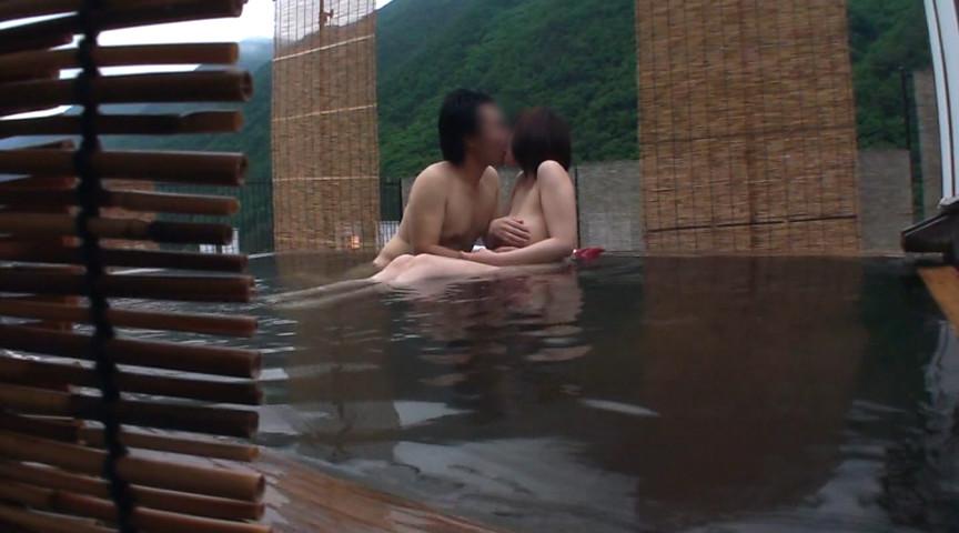 温泉街で見つけた一般男女が出会ってすぐに「混浴モニター体験」初対面でいきなり裸同士!の即席カップルは、入浴中に火が付くまで何分? 12枚目