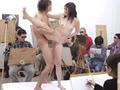モデル募集で集まった一般女性が合体ヌードモデル体験