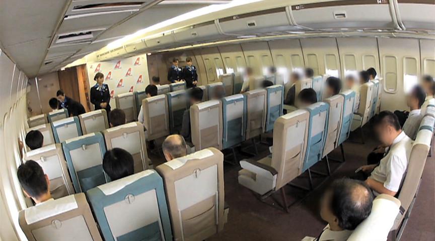 「制服・下着・全裸」 またがりオマ○コ航空 3のサンプル画像