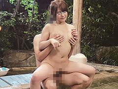 モニタリング 巨乳姉×弟×混浴露天風呂体験