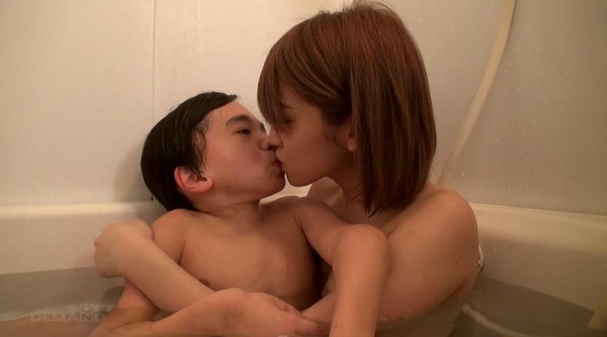 【にしくん、初SEX収録】ロリっこ痴女とえっち遊びのサンプル画像