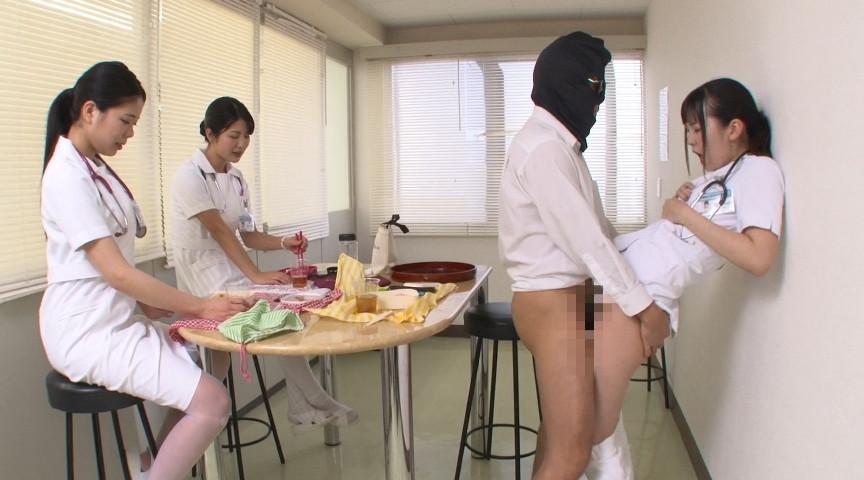 病院生活で「常に性交」ナースのサンプル画像