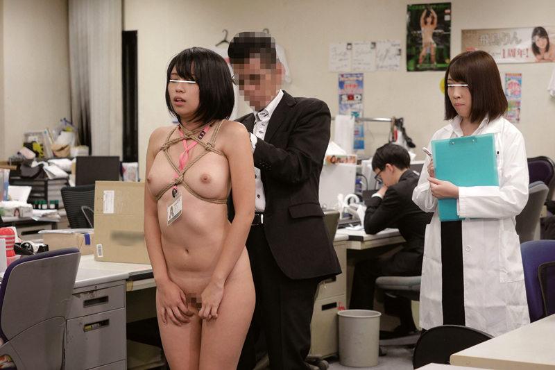 「SMで快感は得られるのか?」をSOD女子社員が真面目に検証してみた結果 同僚の視線さえ快感にして緊縛雌犬プレイで社内失禁!SOD性科学ラボ REPORT6