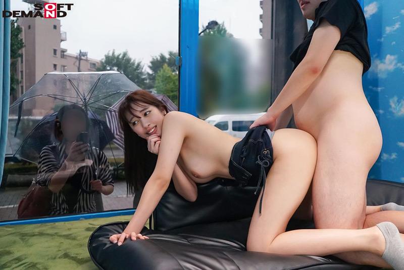 三田杏×マジックミラー号 ミラー越し超恥ずかしいSEX 画像 6