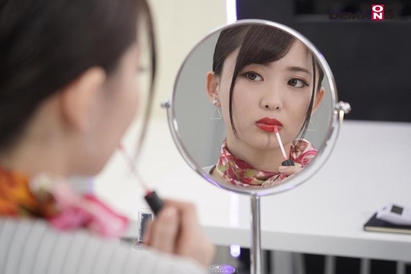 SEISHIDO 赤い口紅の美容部員のフェラごっくんサービスのサンプル画像