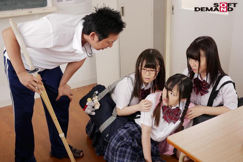 女○校生がアニマル化する学園生活のサンプル画像