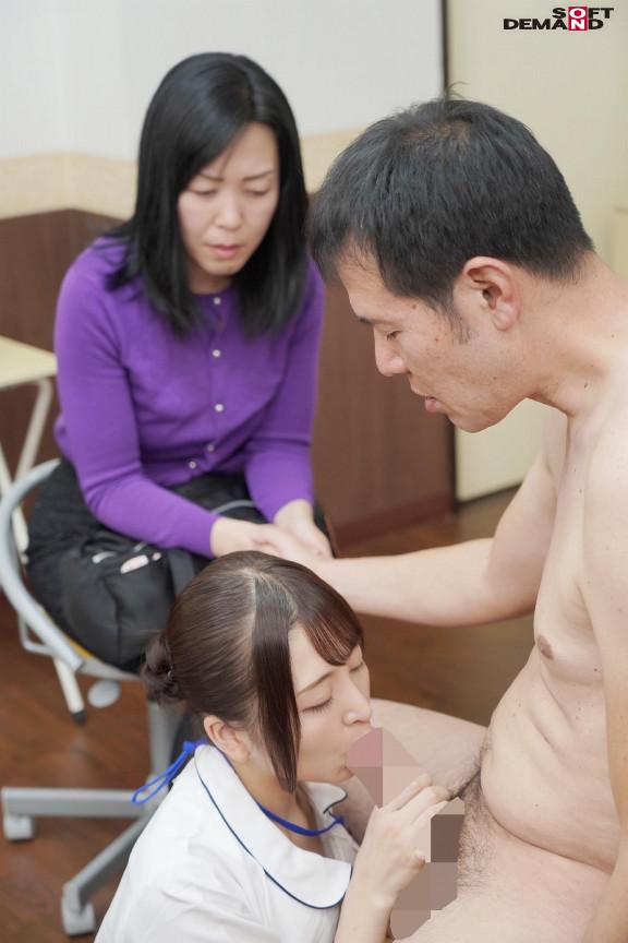 奥様の前で、逆NTR治療を行うと、勃起力が飛躍的に回復