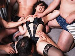12人の男に物のように扱われ輪姦されるミステリアス美少女 吉手るい