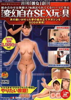 【企画動画】週刊「彼女」創刊-僕だけの変幻自在SEX玩具