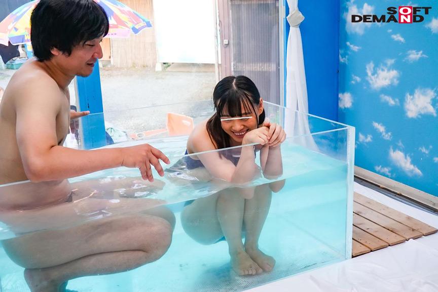 スク水美少女が、見知らぬおじさんといたずら混浴体験! 画像 6