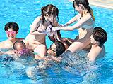 部署対抗!青空水泳大会 SOD女子社員 【DUGA】