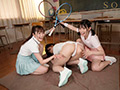 校内中どこでも求愛ハーレム4Pを仕掛ける美少女トリオ-2