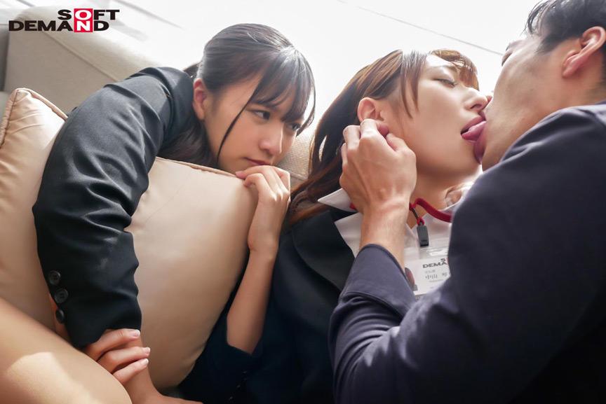 1 か月間禁欲中の新卒女子社員の2人 中山琴葉 宮崎リン 画像 4