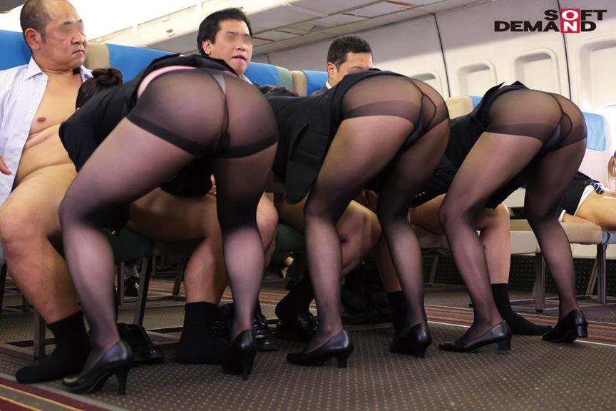 「制服・下着・全裸」 またがりオマ○コ航空13 画像 6