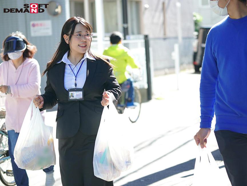 SOD女子社員 アシスタントプロデューサー 入社2年目 荻野ちひろ(24) AV出演!! 1枚目
