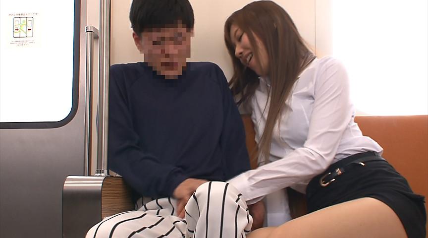 女教師逆痴漢電車