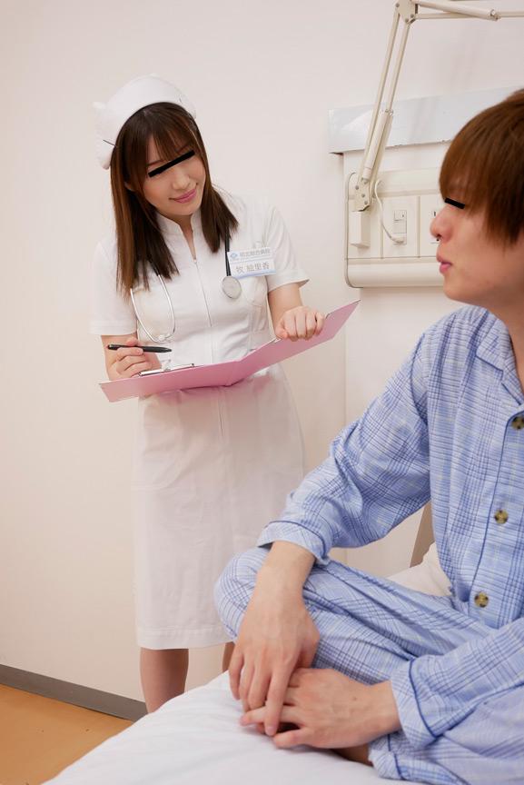 おチンチンを弄ってくる看護師さんの手が柔らかくてのサンプル画像