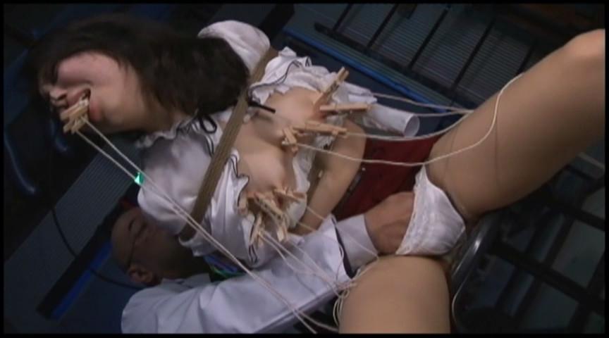 若い子のおっぱい&乳首大量洗濯バサミ責めHardModeのサンプル画像