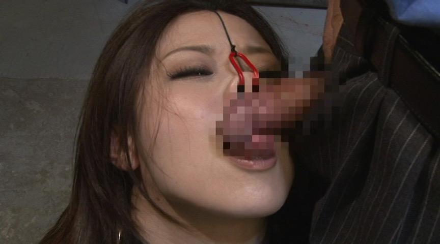 鼻フック女に喉奥フェラ中出し3連発のサンプル画像