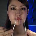 催眠術をかけられて動けない女に鼻こより電マ鞭