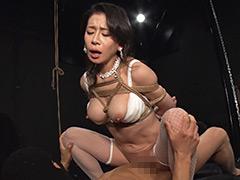 【SM動画】奴隷熟女-捕縄お仕置きSEX1