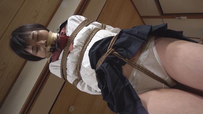 ロープで縛られ悶える姿を視姦される女【DUGA限定】