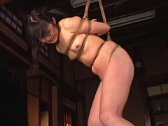 【SM動画】縛られて叩かれ泣き叫ぶ女子校生たち