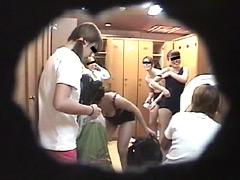 スクール水着に溺れて…。更衣室やらシャワー室やら盗撮