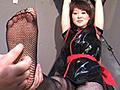 女スパイ拷問 足の裏くすぐり拷問1