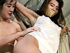 女スパイ拷問 くすぐり笑い地獄の刑5