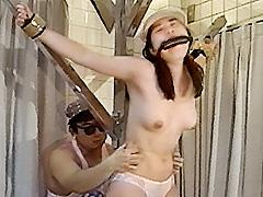 女スパイ拷問 くすぐり笑い地獄の刑10