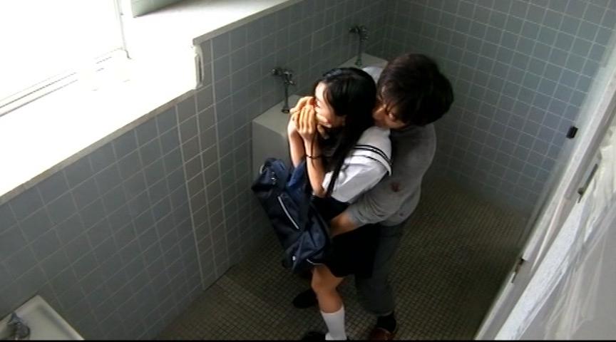J○生校内女子トイレレイプ盗撮 画像 7