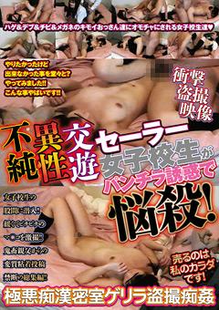【盗撮動画】不純異性交遊-セーラー女子校生がパンチラ誘惑で悩殺!