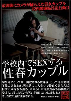 学校内でSEXする性春カップル