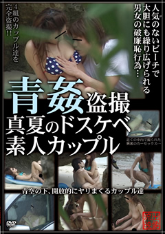 青姦盗撮 真夏のドスケベ素人カップル