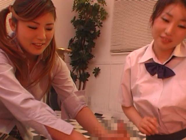 エロかわいい女子校生が放課後に手コキをしてあげるのサンプル画像