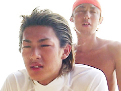 【ぶっかけ】天然素材ボーイ in 石垣島~ライフセーバー編