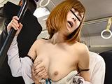 満員バスで人妻たちの巨乳に押し付けられてびんびん!