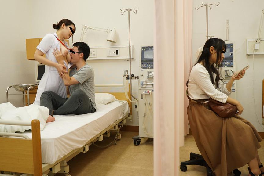 入院したら看護師がみんな巨乳でノーブラ!?のサンプル画像