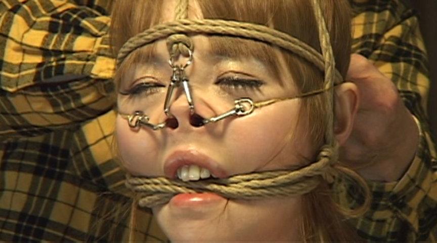 鼻縛崩乱 美しすぎる鼻責めM女 黒田麻世のサンプル画像14